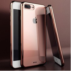 TPU Silicone Protective Case For iPhone 5 5S SE - Rose Gold